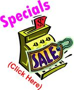 Supplier Specials, Closeouts